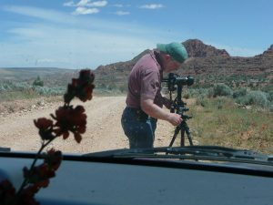 James Cowlin on House Rock Road in northern Arizona