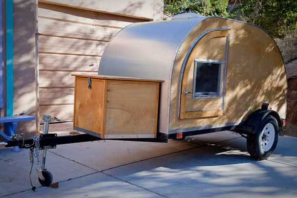 Teardrop Trailer Exterior View