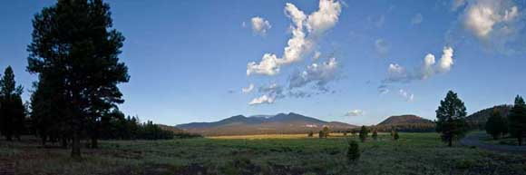 San Francisco Peaks Panorama, Flagstaff, Arizona
