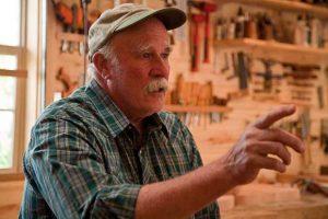 Jock Jones, builder of Windsor chairs in Spring City, Utah