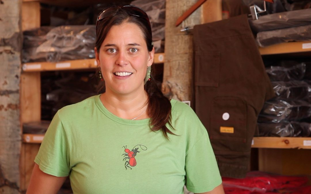 Sarah Calhoun, Red Ants Pants, White Sulphur Springs, Montana