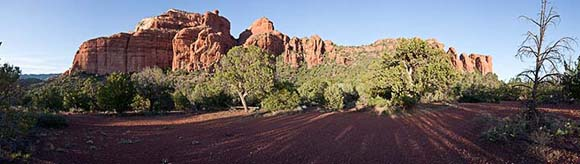 Red rock formation near Sedona, Arizona