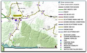 Montana Road Condition Map