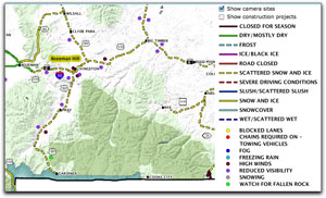 Montana Road Condition Map US Route - Us highway conditions map