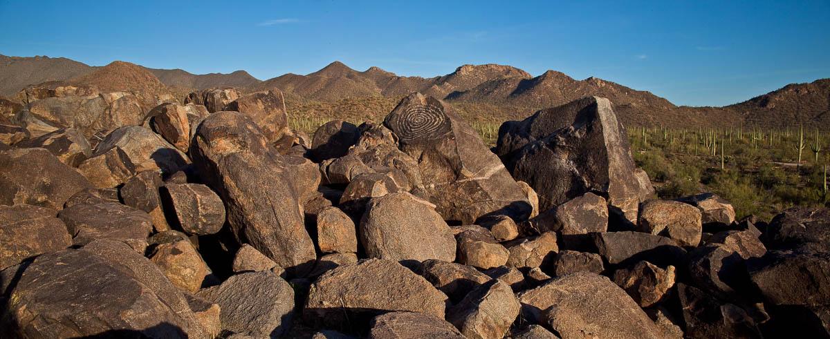 Signal Hill Petroglyph, Saguaro National Park