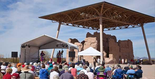 Casa Grande Ruins National Monument, Arizona-Native American Music Festival