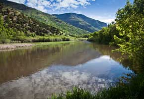 Logan River, Logan Canyon National Scenic Byway, Utah
