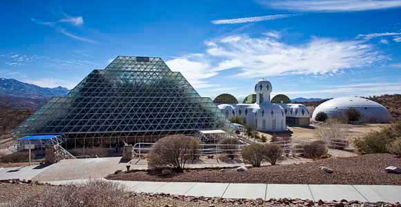 Biosphere 2, Tucson, Arizona