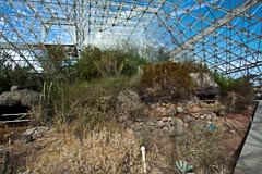 The Desert Biome, Biosphere 2, Tucson, Arizona