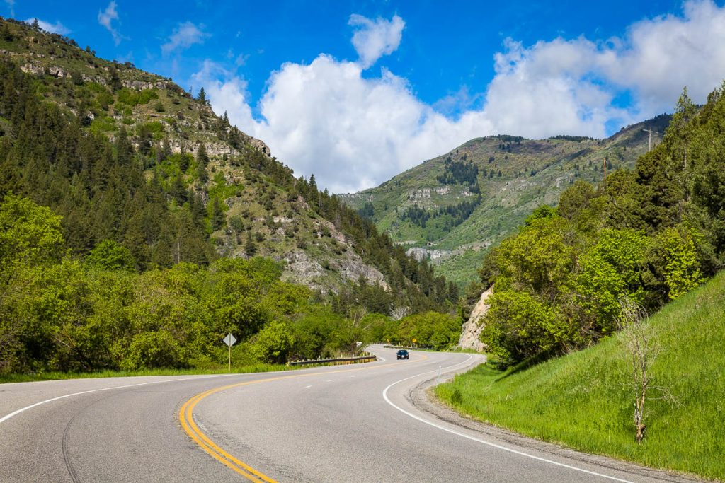 Logan Canyon National Scenic Byway, Utah