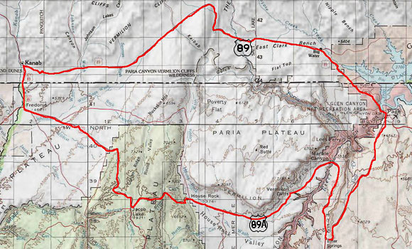 Guide to Driving US Route 89 and 89A in Arizona and Utah
