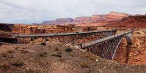 Navajo Bridge over the Colorado River on US Route 89A
