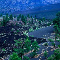 Bonita Lava Flow in Sunset Crater Volcano National Monument