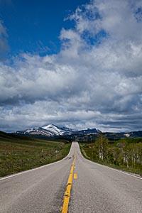 US Route 89, Glacier National Park, Montana