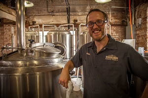 Brewmaster Blake Collins, Borderlands Brewing Company, Tucson, Arizoan