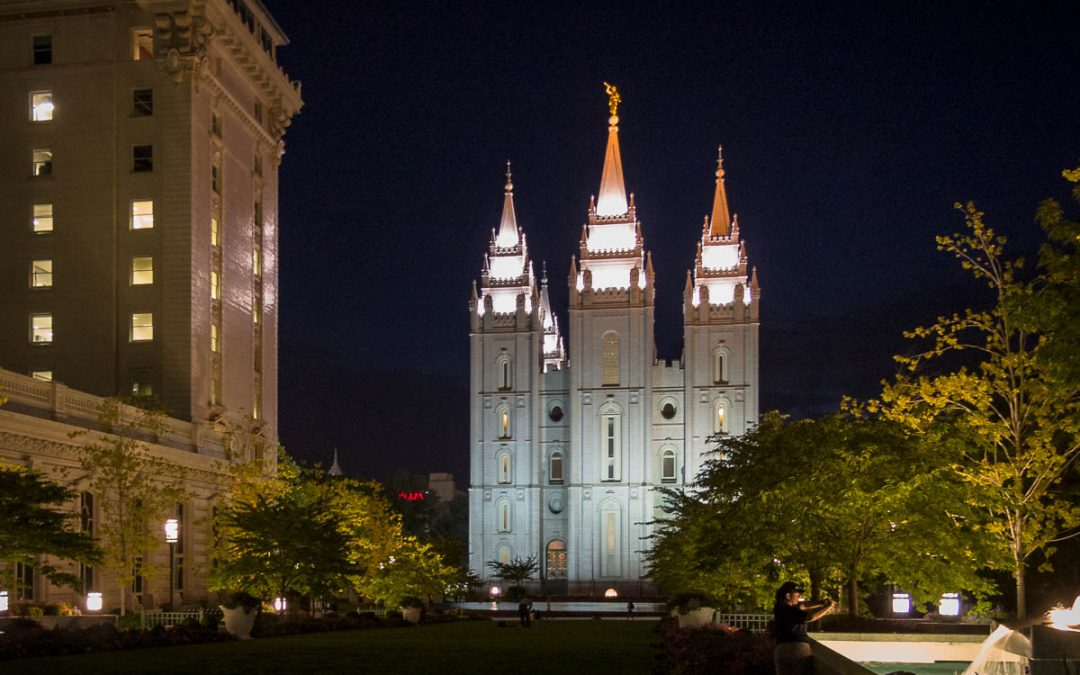 US Route 89 Roadside Attraction: Temple Square