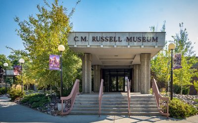US Route 89 Roadside Attraction: C. M. Russell Museum