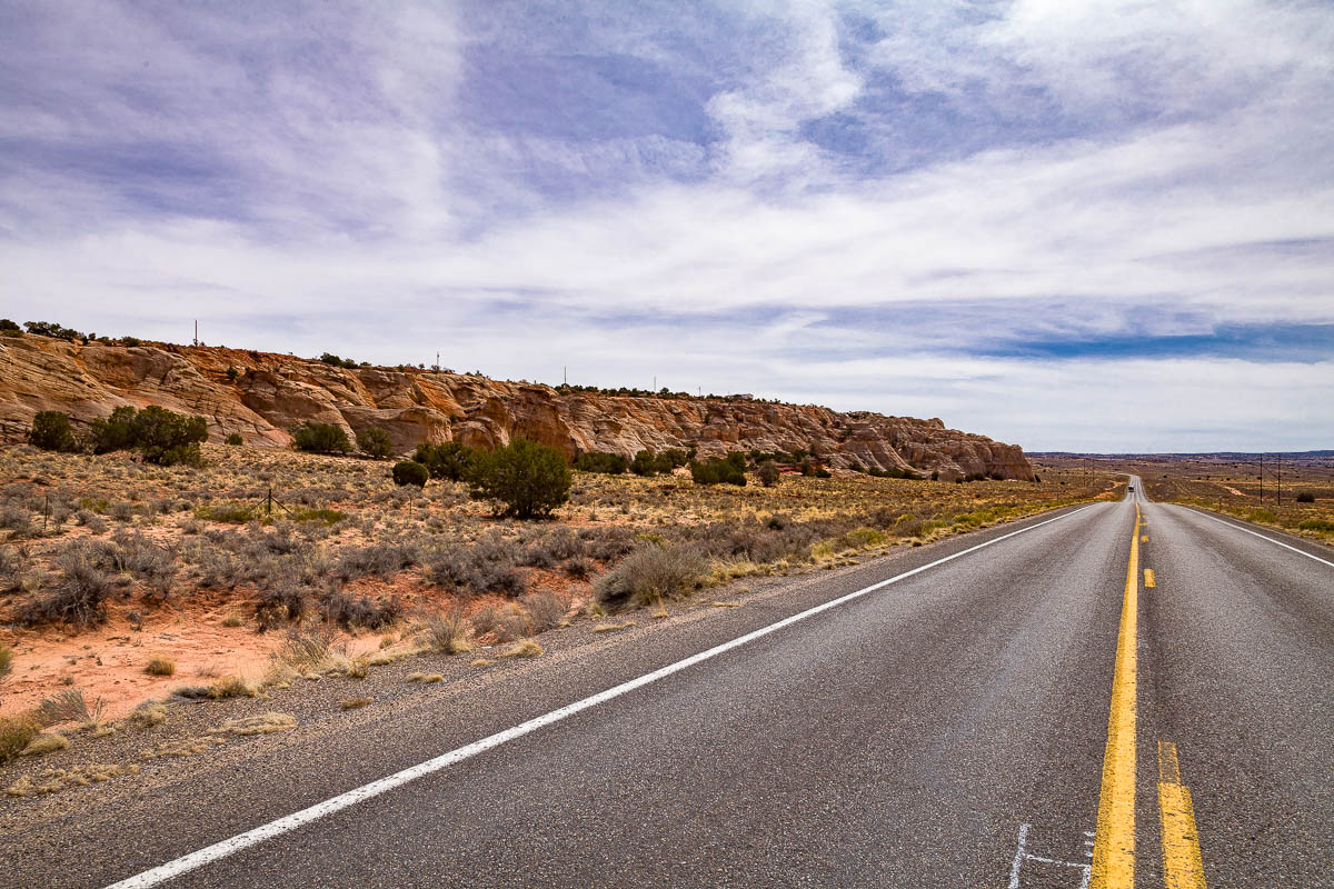 Navajo Route 20, Navajo Reservation, Arizona