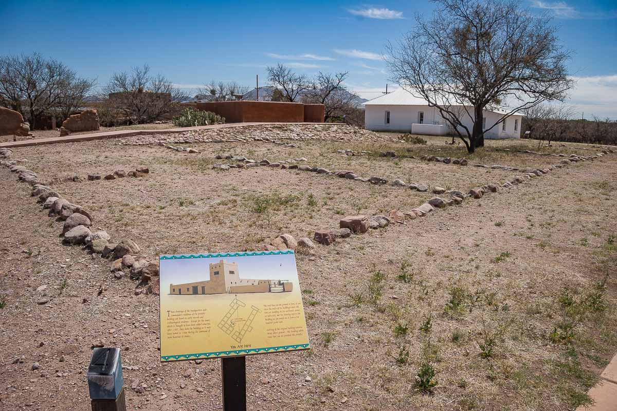 Tubac Presidio State Historic Park, Arizona