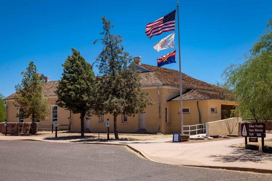 Tubac Presidio State Historic Park, Arizona