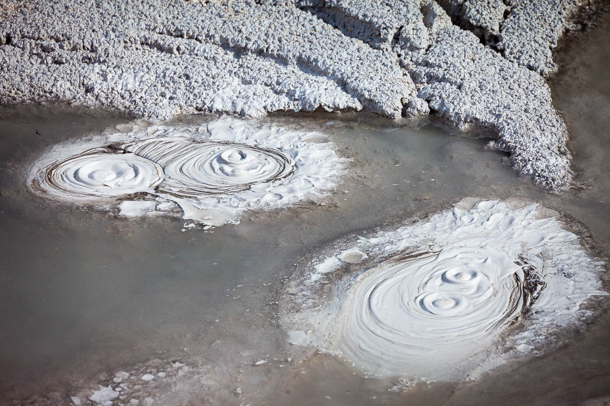 Artists Paintpots-Yellowstone National Park, Wyoming