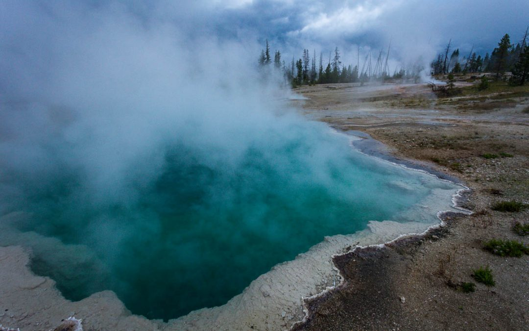 US Route 89 Roadside Attraction: West Thumb Geyser Basin