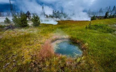 What Drives Volcanism Near Yellowstone National Park?