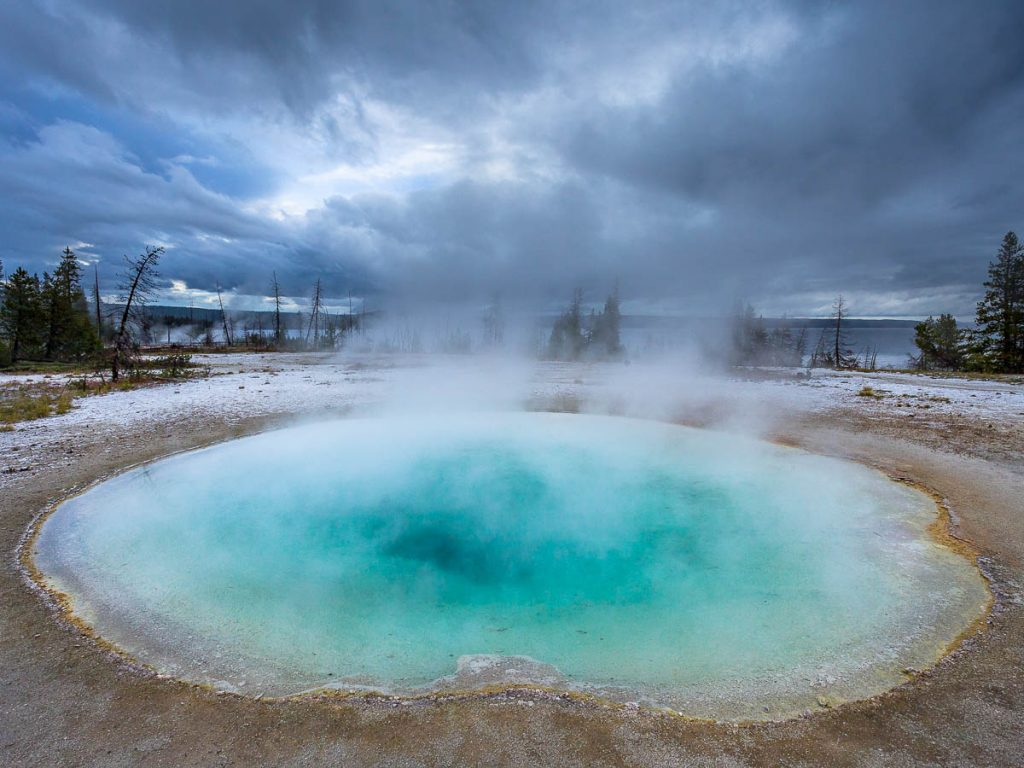 Weat Thumb Geyser Basin-Yellowstone National Park, Wyoming
