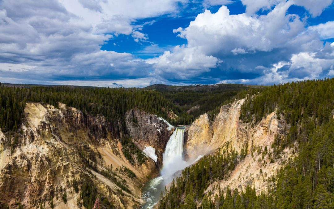 US Route 89 Roadside Attraction: Grand Canyon of the Yellowstone