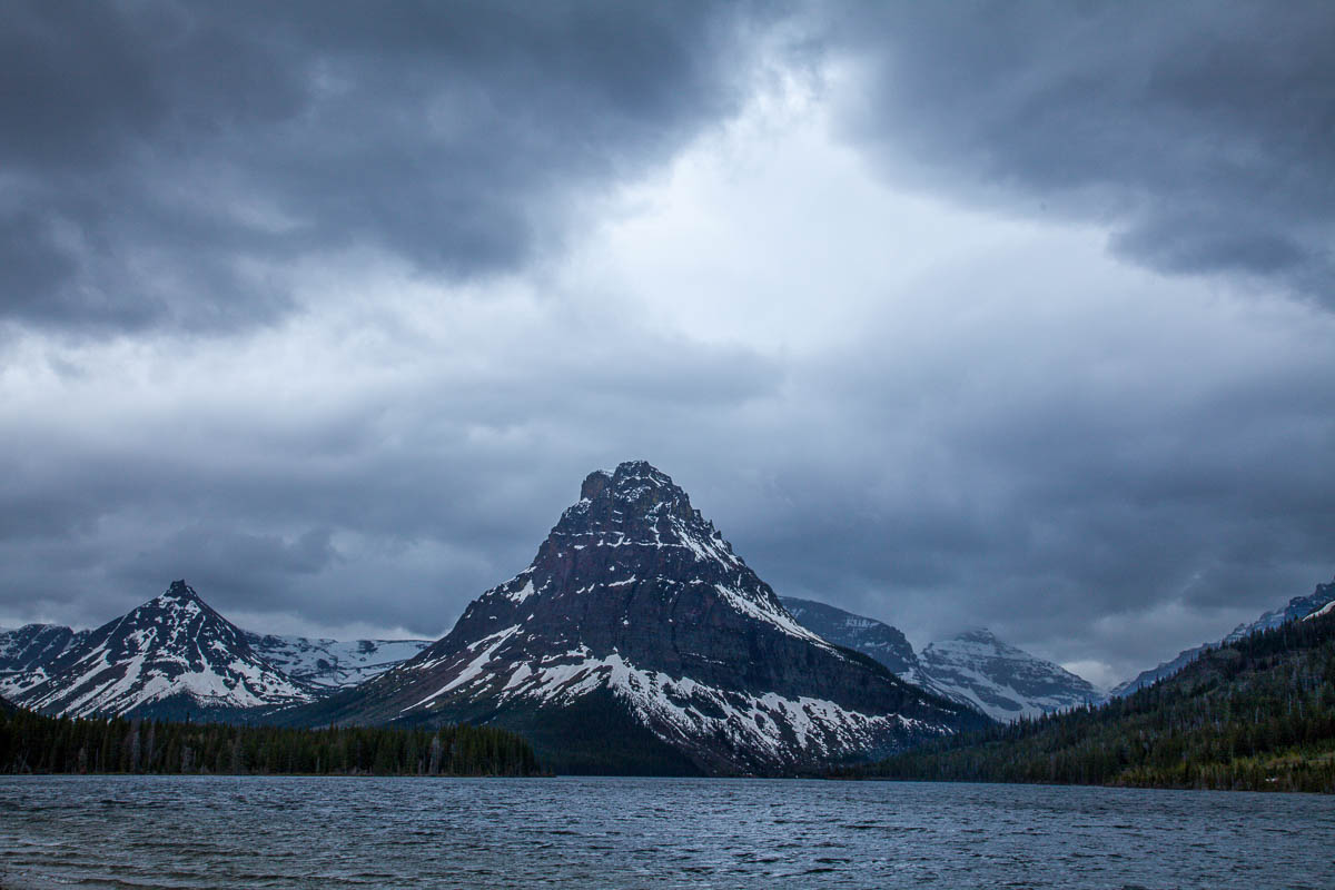 Two Medicine Lake, Glacier National Park, Montana