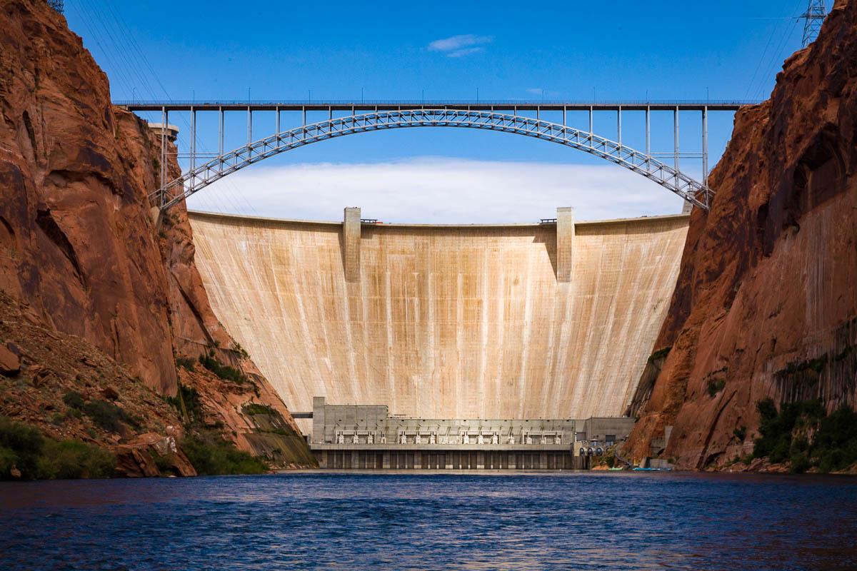 Glen Canyon Dam, Glen Canyon National Recreation Area, Arizona