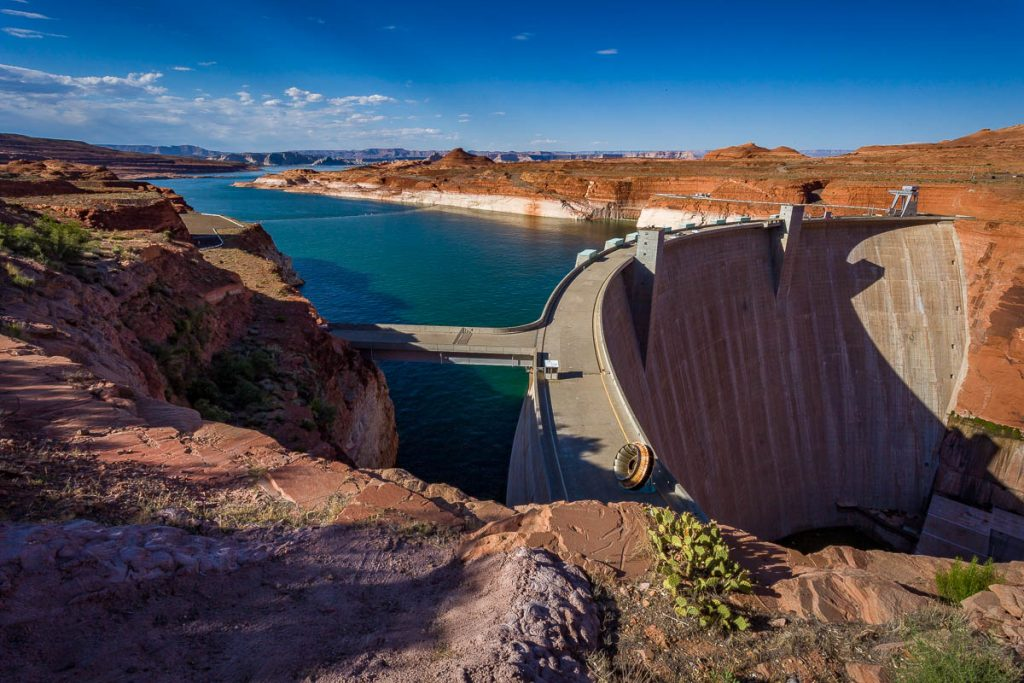Glen Canyon Dam, Glen Canyon National Recreation Area, Arizona