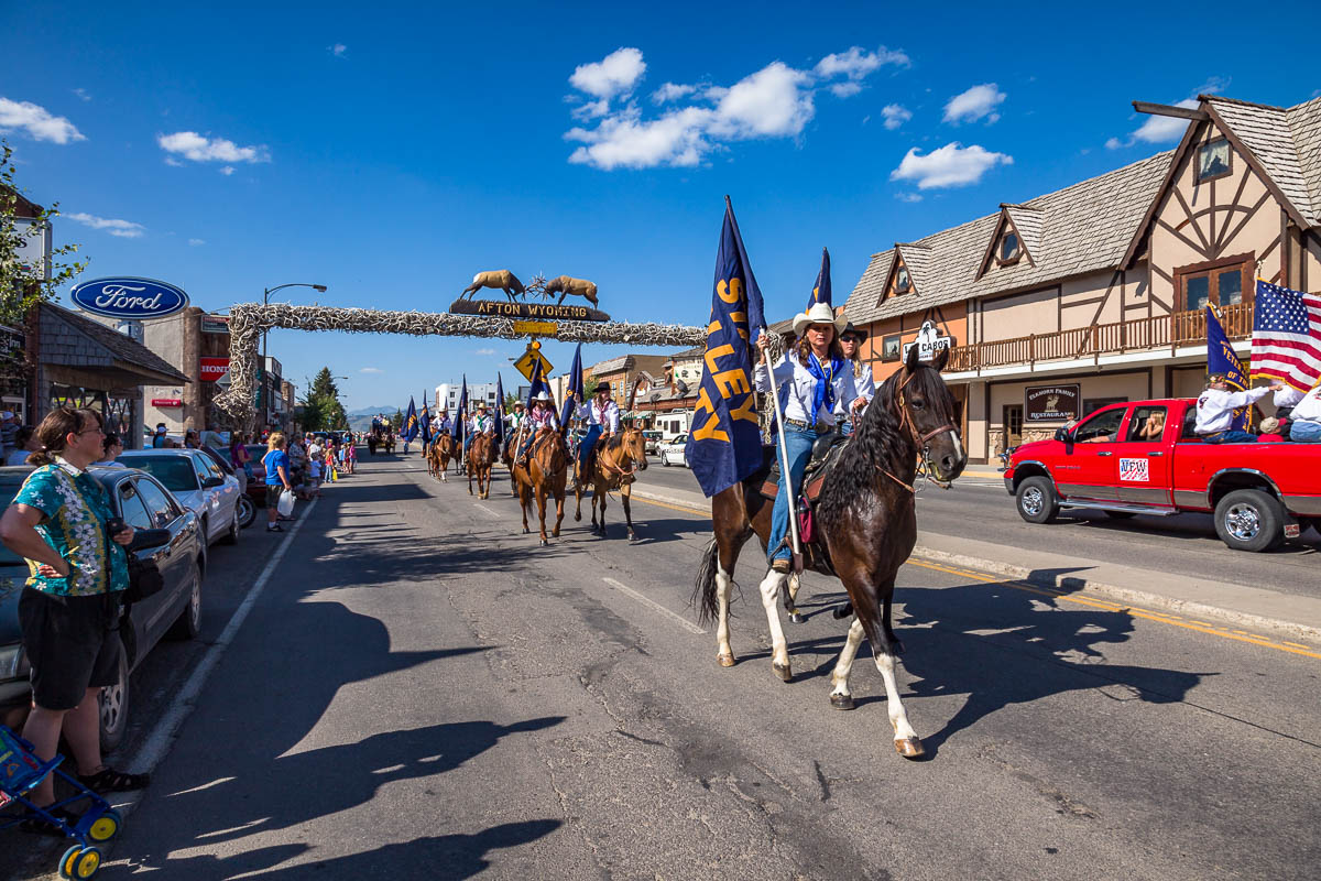 Elkhorn Arch, Afton, Wyoming
