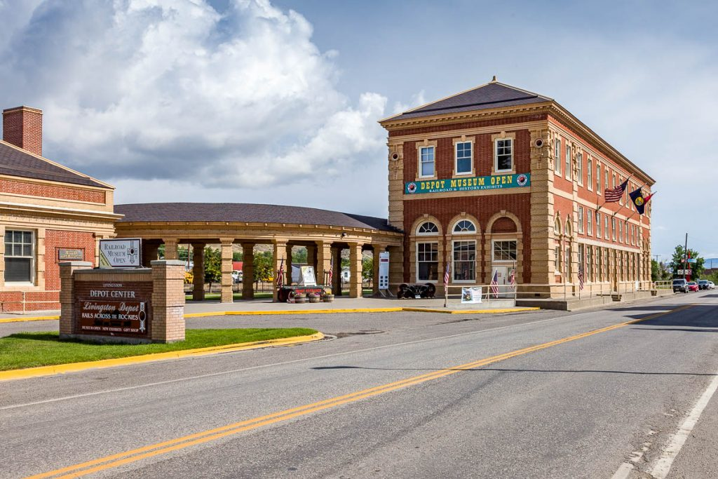 Livingston Depot Center, Livingston, Montana