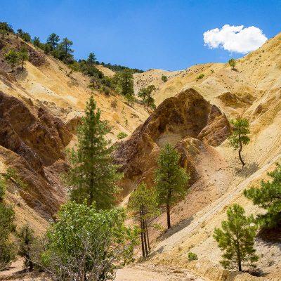 Big Rock Candy Mountain, Marysvale Canyon, Utah