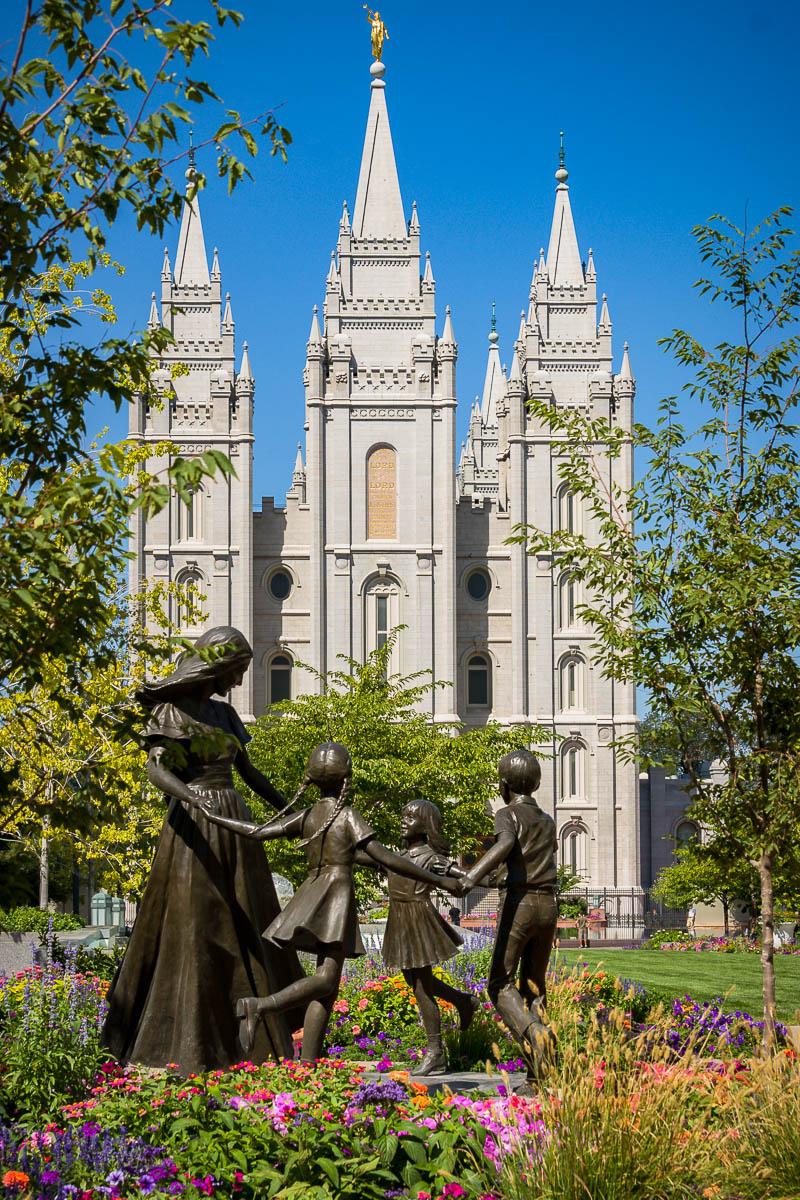 Temple Square, Salt Lake City, Utah