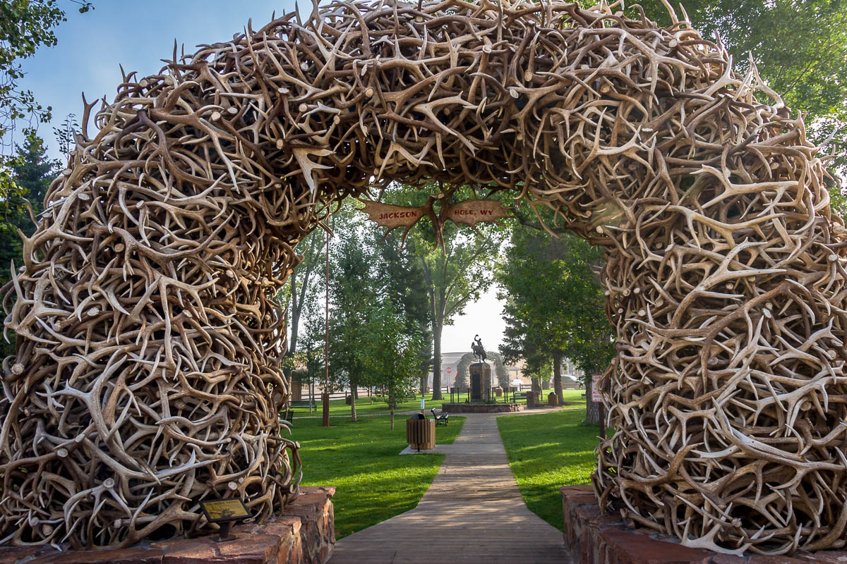Town Square, Jackson, Wyoming