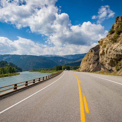Snake River Canyon, Wyoming