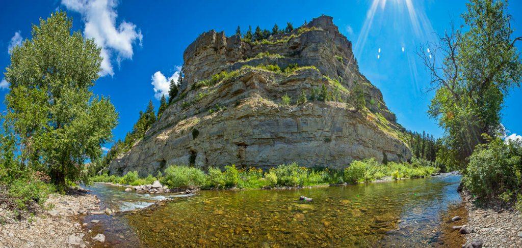 Sluice Boxes State Park, Montana