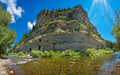 US Route 89 Roadside Attraction: Sluice Boxes State Park