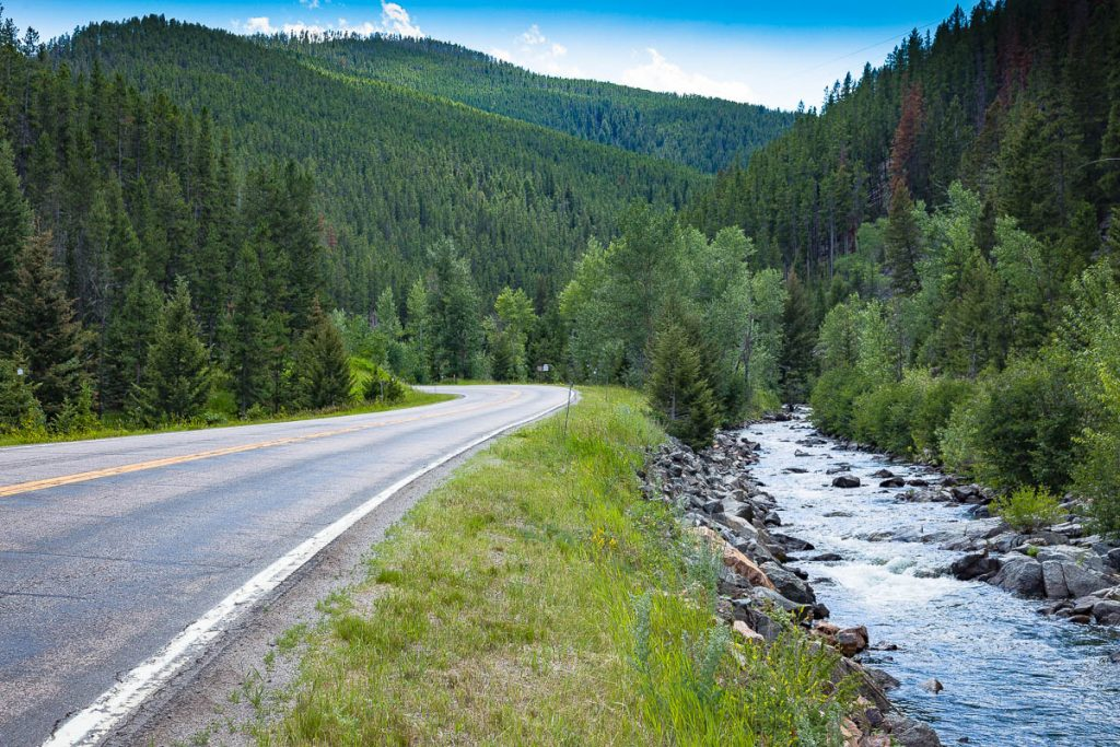 Kings Hill Scenic Byway, US Route 89, Montana