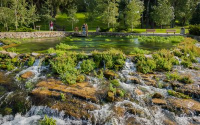 US Route 89 Roadside Attraction: Giant Springs & The Roe River