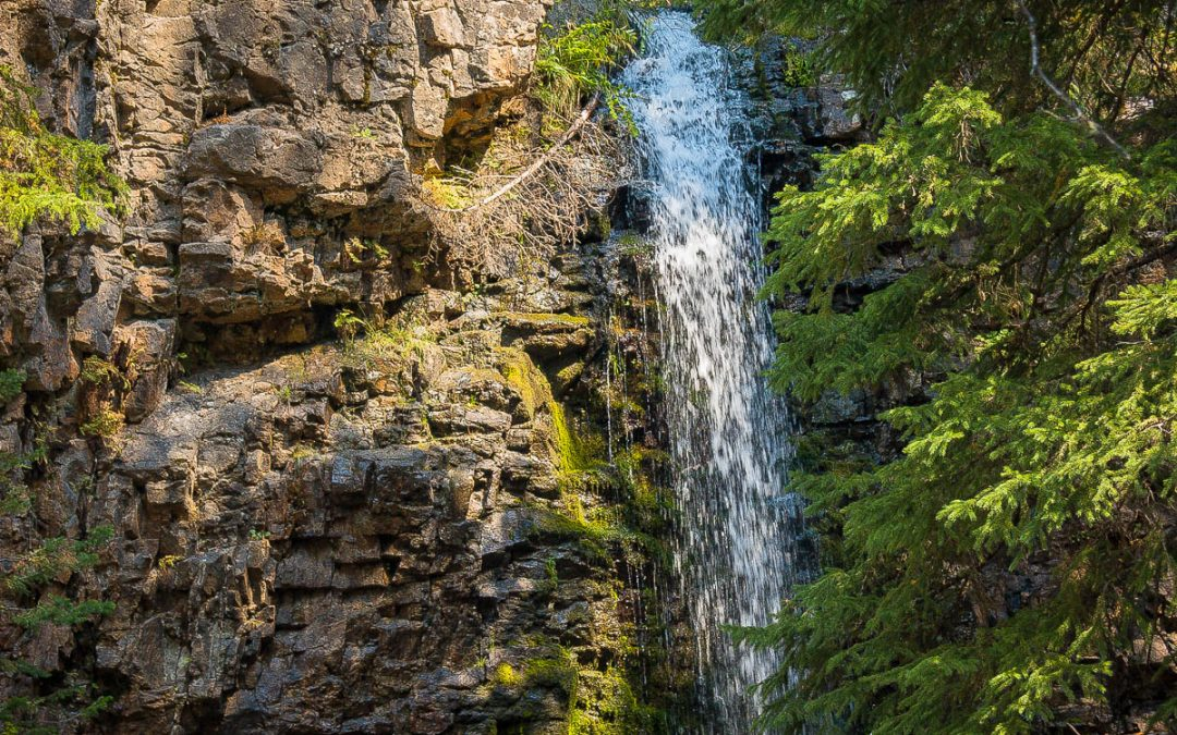 US Route 89 Roadside Attraction: Memorial Falls