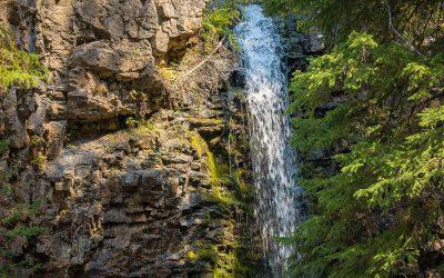 US Route 89 Roadside Attraction: Memorial Falls