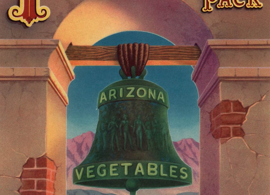 Arizona Vegetable Crate Labels