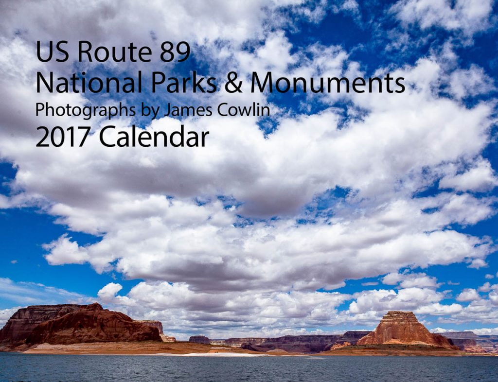 2017 US Route 89 Calendar Cover