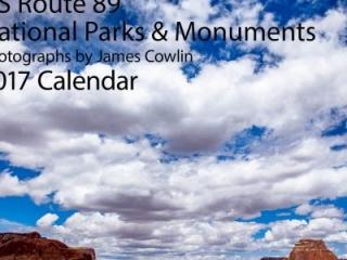 2017 US Route 89 Calendar Cover