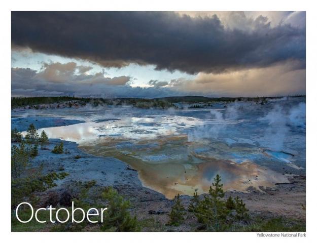 2017 US Route 89 Calendar-October