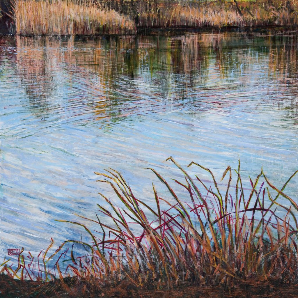 Barbara Kemp Cowlin-Painting Water
