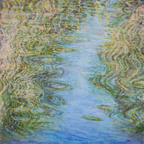 Barbara Kemp Cowlin-Painting Water